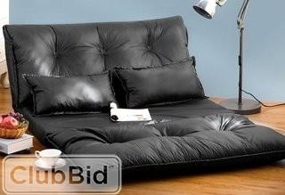 Ebern Designs Boisvert Sleeper Sofa - Black(EBDG3310)