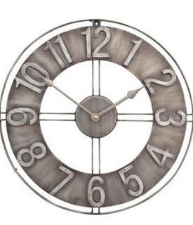 "Industrial Loft 15"" Wall Clock"
