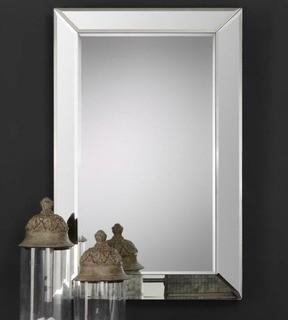 "Orren Ellis Traditional Accent Mirror 34x22"""