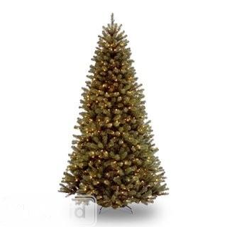 Beachcrest Home Spruce Artificial Christmas Tree 6' with Clear Lights (BCHH4218_24260267)