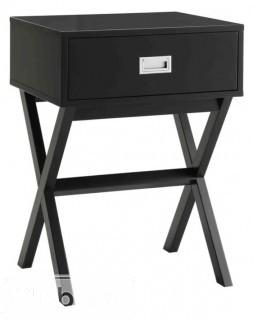 Zipcode Design Kathleen End Table With Storage - Black(ZIPC1758_15188198)