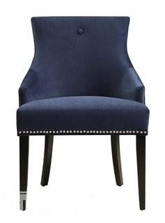 Willa Arlo Interiors Dravis Parsons Chair - Blue(WRLO6597)