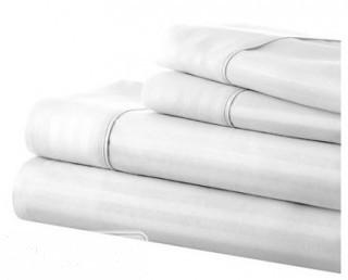 IEnjoy Home Becky Cameron Sheet Set  - White - Queen(IENJ11321541982415426686)