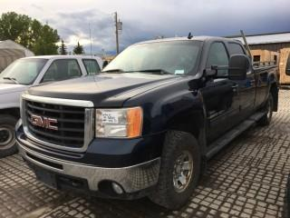 2007 GMC 2500 Z71 Crew Cab 4x4 P/U c/w Diesel, Allison Auto, A/C, 265/75R16 Tires, Showing 352386 Kms. S/N 1GTHK23687F552314.
