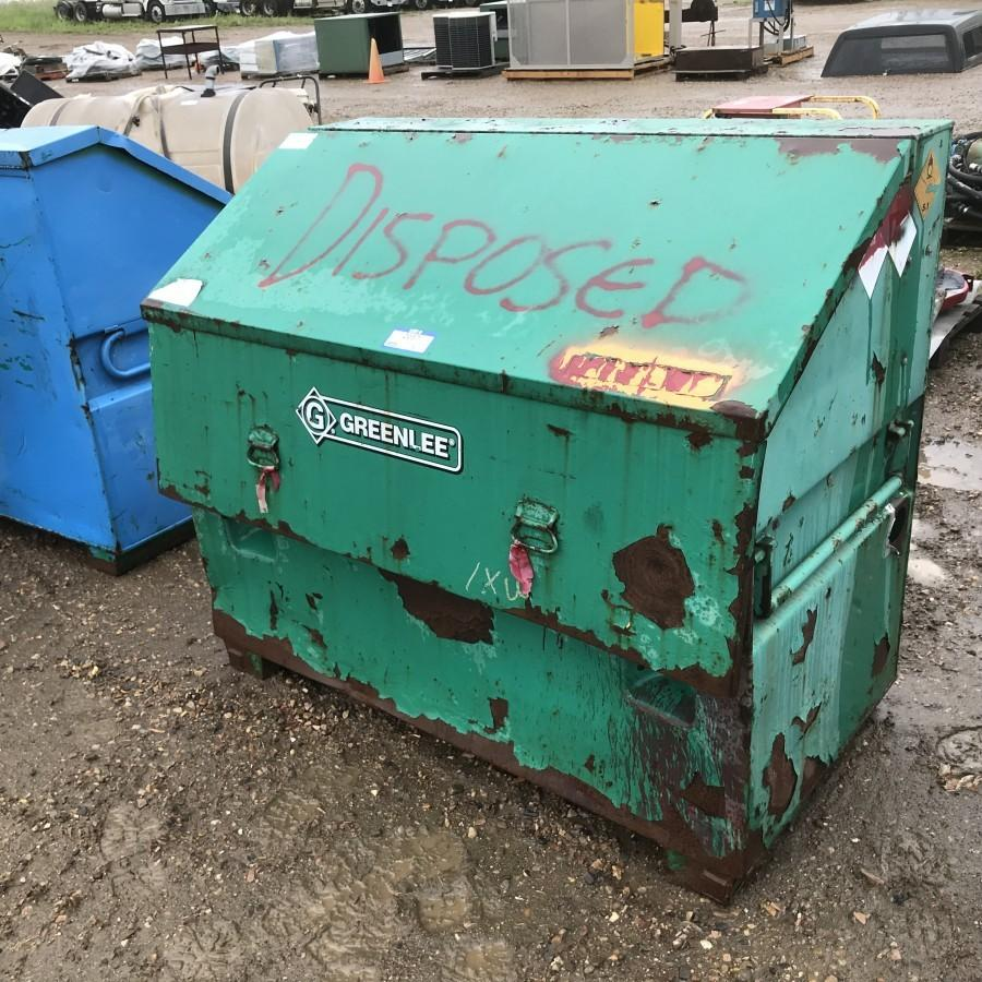 Greenlee Job Box *LOCATED AT EDMONTON REGIONAL AUCTION CENTRE*
