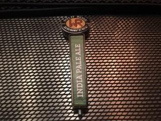 Wild Rose Brewery India Pale Ale Tap Handle.
