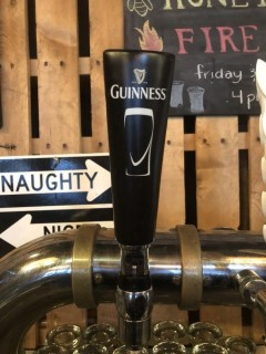 Guinness Draft Tap Handle.
