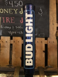 Bud Light Tap Handle.
