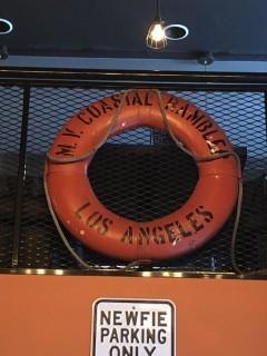 MV Coastal Rambles L.A. Life Preserver.
