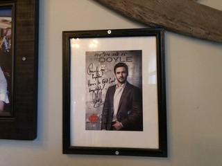 """Signed Republic Doyle Photo  9"""" x 11""""."""