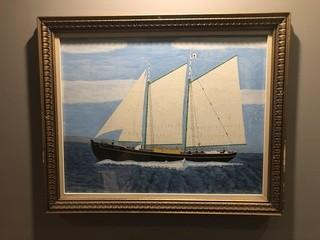 "Norma & Gladis Albert Wight Painting 33"" x 27""."