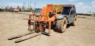Xtreme XR2034 4x4x4 Telescopic Forklift c/w Q/C 72in Forks, Cab showing 9865 hours SN XR2034091291791 * NOTE CANNOT BE REMOVED UNTIL NOON JULY 24 UNLESS MUTUALLY AGREED UPON*