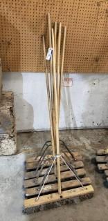 Qty Of (6) Push Brooms