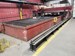 KOIKE ARONSON CNC Cutting Table C/w 400Amp Plasma Head 10Ft X 24ft Water Table *Note: Buyer Responsible for Load Out*