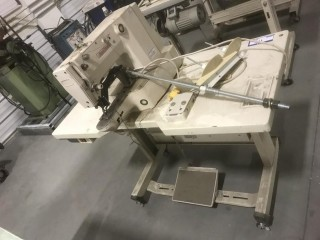 Sun Star SPS/A-B1201H Sewing Machine C/w Portable Table. SN 35030003