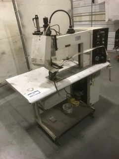 ARDMEL Seam Heat Iron C/w Portable Table. SN 030993659