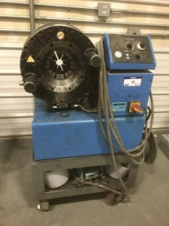 2001 Finn Power P51IS Crimping Machine. SN 10511S8001