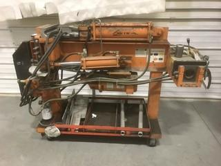 Hutch 2801 Portable Hyd Bender. SN 12021