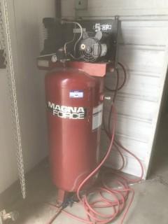Sanborn Magna Force G500BPL60V 5HP 140PSI Electric Air Compressor. SN R2025040