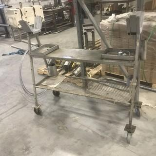 Portable Pipe Cart