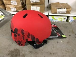 Lot of (2) Bell Ollie Multi-Sport Helmet Age 8-14